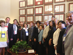 Members of the Silicon Valley Association of REALTORS®, Santa Clara County Association of REALTORS® and San Mateo County Association of REALTORS® met with U.S. Representative Anna Eshoo.