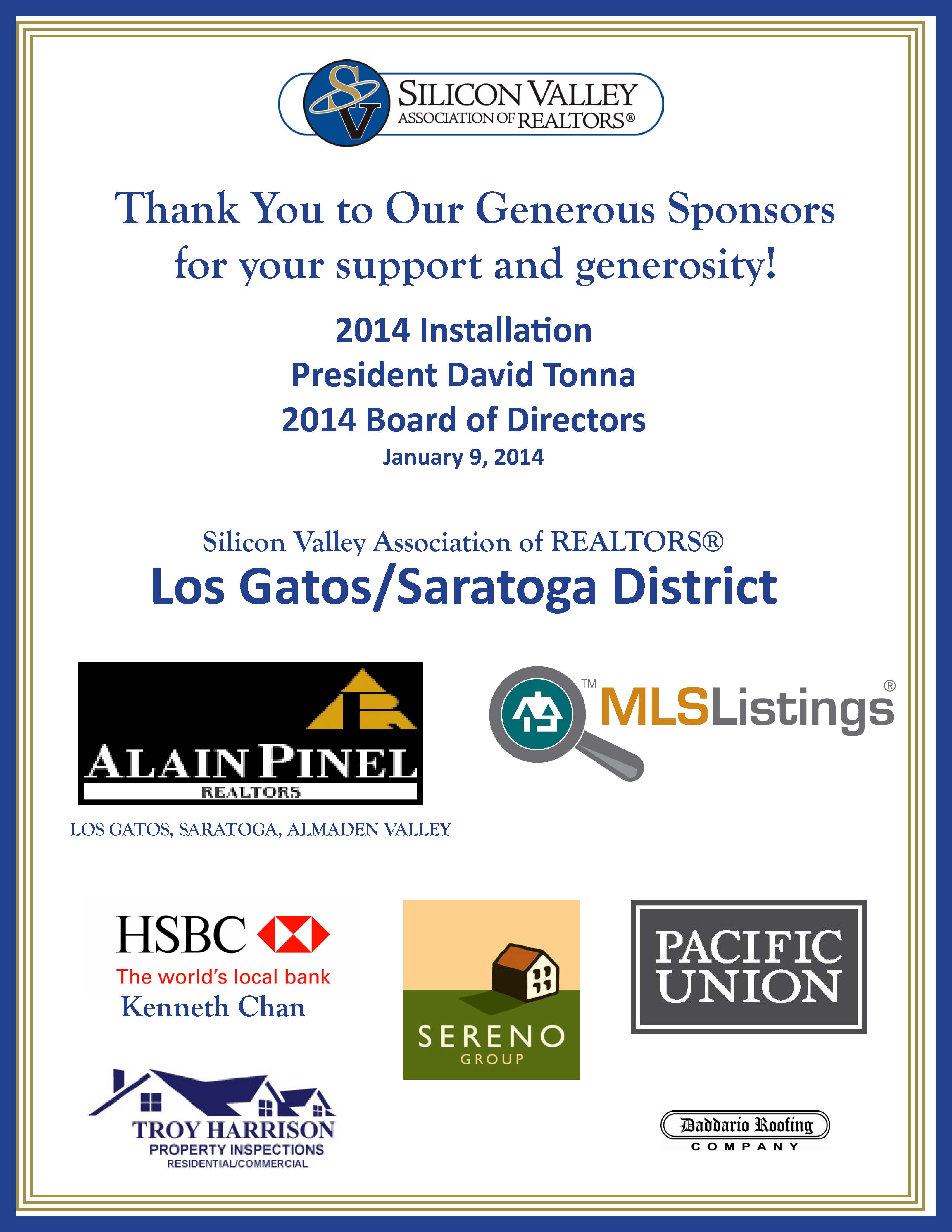 January 2014 Silicon Valley Association Of Realtors