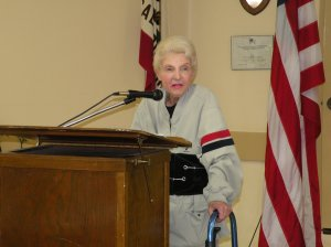 Carole Rodoni spoke to REALTORS® in Palo Alto early this month.