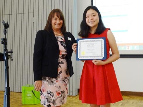 Gunn scholarship presentation
